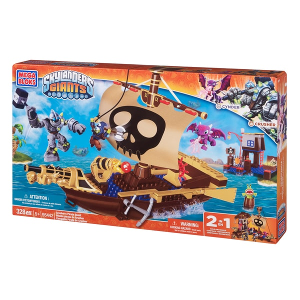 Mega Bloks Skylanders Crusher's Pirate Quest Playset 10399244