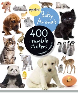 Eyelike Stickers: Baby Animals (Paperback)