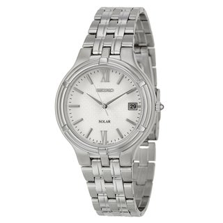 Seiko Men's 'Solar' Stainless Steel Watch