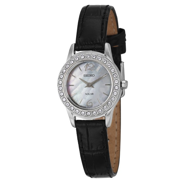 Seiko Women's 'Solar' Stainless Steel Watch
