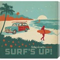 Anderson Design Group 'Surf's Up Square' Stretched Canvas Art