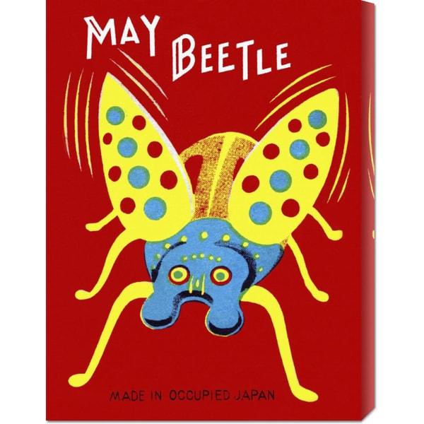 Big Canvas Co. Retrobot 'May Beetle' Stretched Canvas Art