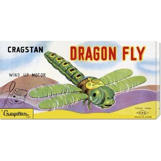 Retrobot 'Cragstan Dragon Fly' Stretched Canvas Art