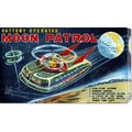 Retrobot 'Battery Operated Moon Patrol XT-978' Stretched Canvas Art