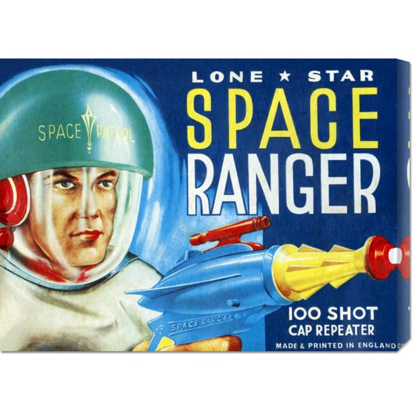 Retrobot 'Lone Star Space Ranger 100 Shot Cap Repeater' Art