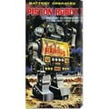 Retrobot 'Battery Operated Piston Robot' Canvas Art