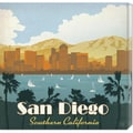 Anderson Design Group 'San Diego Square' Canvas Art