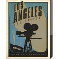 Anderson Design Group 'Los Angeles, The City of Angels' Stretched Canvas Art