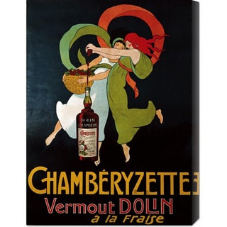 Unknown 'Chamberyzette' Stretched Canvas Art