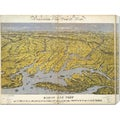 John Bachmann 'Virginia, Maryland Delaware and The District of Columbia, 1861' Stretched Canvas Art