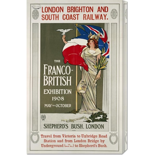 Hill Sifken 'The Franco-British Exhibition, 1908' Stretched Canvas Art