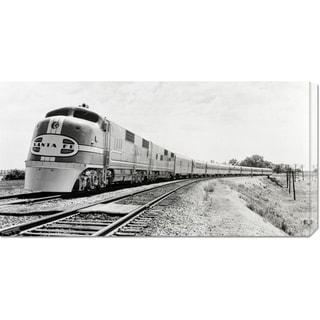 Philip Gendreau 'Santa Fe Super Chief Train, 1938 (detail)' Stretched Canvas Art