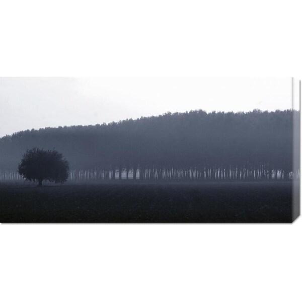 Fulvio Ferrua 'Sinfonia d'autunno' Stretched Canvas Art