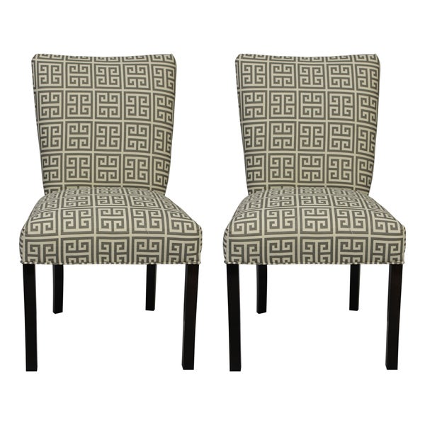 Sole Designs Julia Towers Dark Grey Dining Chairs (Set of 2)