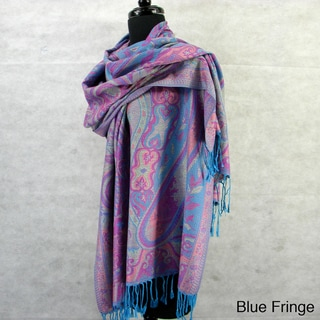 Fashion Scarf Pashmina/ Wrap/ Shawl, Paisley & Floral with Frnge