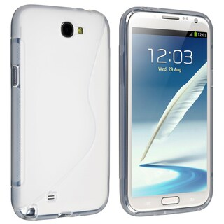 BasAcc Clear S Shape TPU Case for Samsung Galaxy Note II N7100