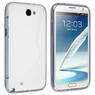 BasAcc Clear S Shape TPU Case for Samsung Galaxy Note II N7100