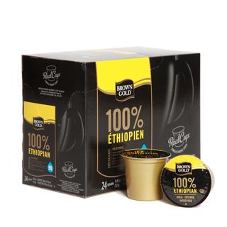 Brown Gold 100-percent Ethiopian Premium Coffee (96 K-Cups)