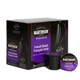 Martinson Coffee French Roast Realcup (96 Count)