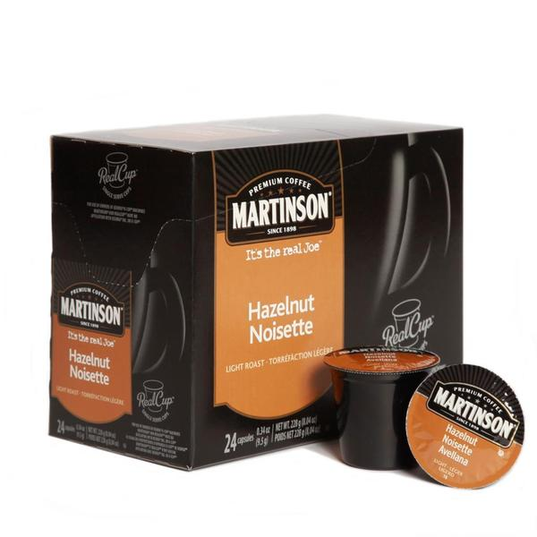 Martinson Coffee Hazelnut RealCup (96 Count)