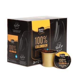 Brown Gold 100-percent Colombian Premium Coffee K-Cups (96 Count)