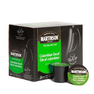 Martinson Coffee Colombian Decaf RealCup (96 Count)