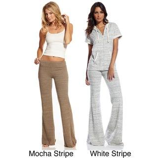 Elan Women's Striped Karate Pants