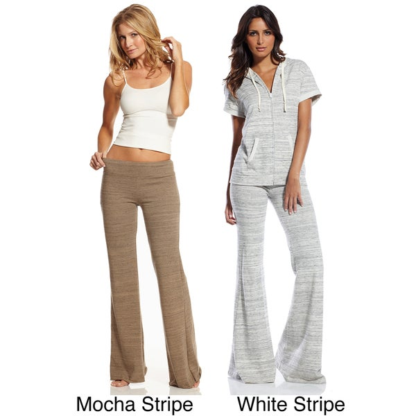 Elan Women's Striped Karate Pants