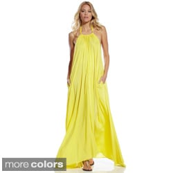 Elan Women's Maxi Halter Dress