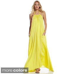 Elan Women's Maxi Halter Dress