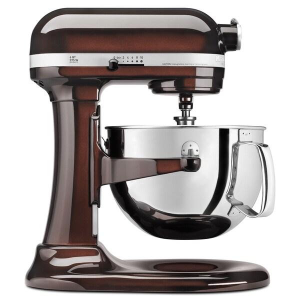 KitchenAid RKP26M1XES Espresso 6-quart Pro 600 Bowl-Lift Stand Mixer (Refurbished)