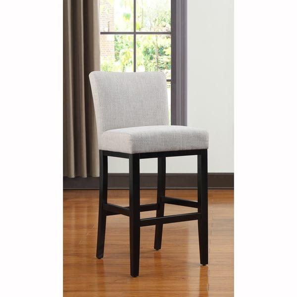 Portfolio Orion Barley Tan Linen Upholstered 29-inch Bar Stool