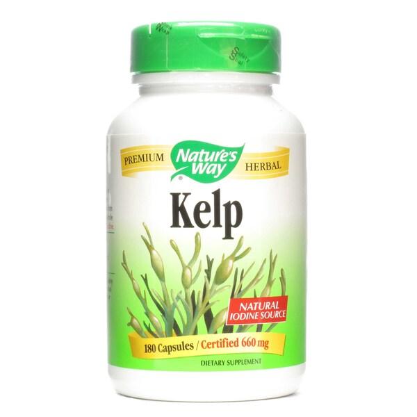 Nature's Way Kelp (180 Capsules)