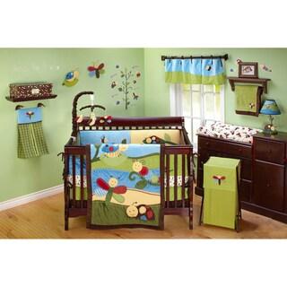 NoJo Critter Babies 10-piece Crib Bedding Set