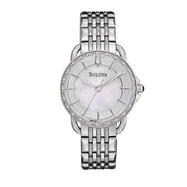 Bulova Women's 96R146 'Diamonds' Stainless Steel Watch
