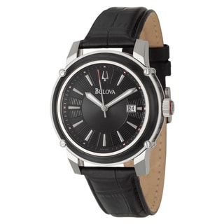 Bulova Men's Stainless Steel Date Watch