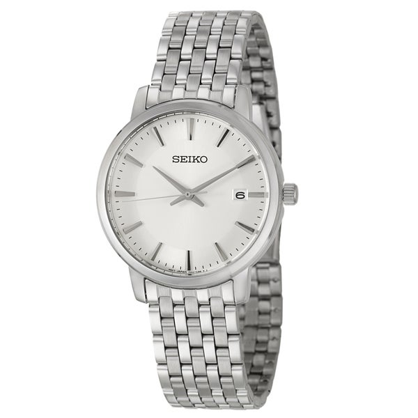 Seiko Men's 'Dress' Stainless Steel Watch