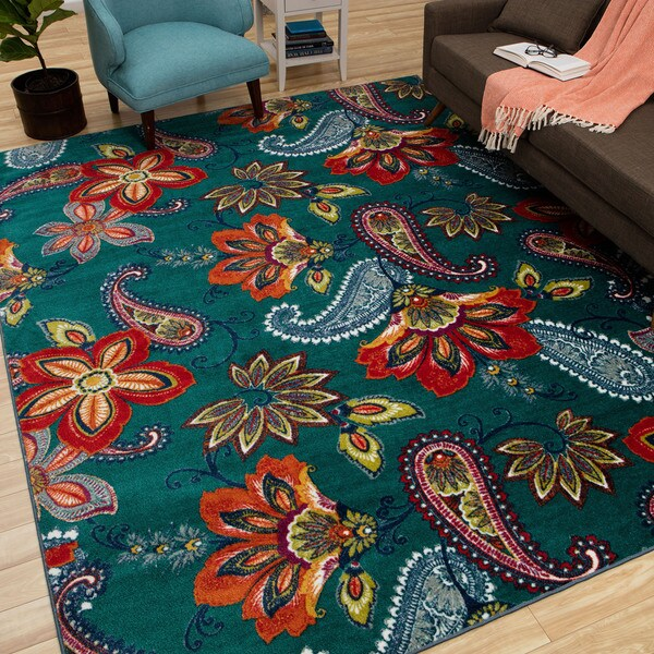 Mohawk Home Bella Donna Multi Area Rug 5 X 8