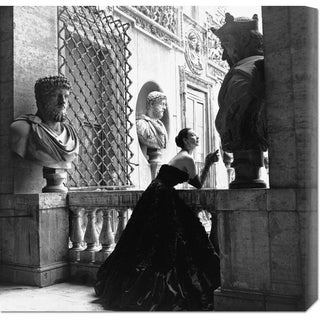 Genevieve Naylor 'Evening Dress, Roma, 1952' Stretched Canvas Art