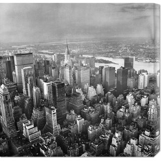 Unknown 'New York Skyline' Stretched Canvas Art