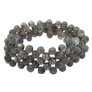 Handcrafted Labradorite 'Intuition' Bracelet (India)