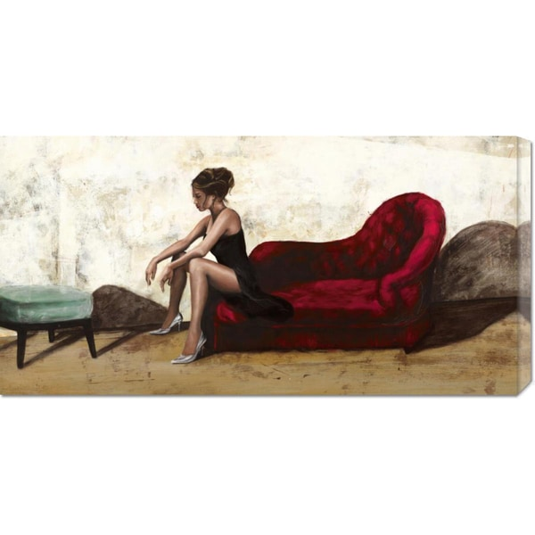 Andrea Antinori 'Wild and Beautiful' Stretched Canvas Art