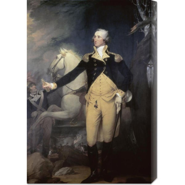 Robert Muller Portrait of General George Washington Stretched Canvas