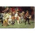 George Sheridan Knowles 'American Parade' Stretched Canvas Art