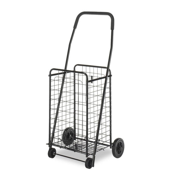Whitmor Black Rolling Utility Cart