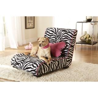 Enchanted Home Zebra Pet Elliot Lounger