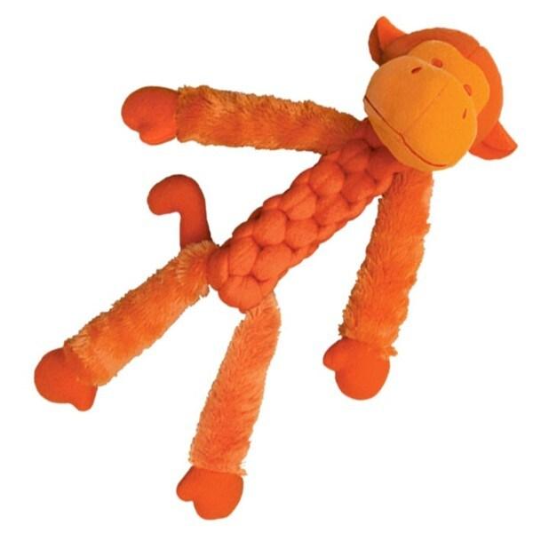 Kong Company Large Fuzzy Monkey Pet Toy