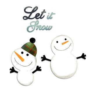 Sizzix Bigz 'Snowmen & Let it Snow' Die