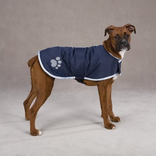 Zack & Zoey Nor'easter Navy Blanket Coat