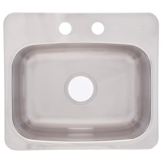 Dual Mount 8-inch Deep Stainless Steel Bar Sink
